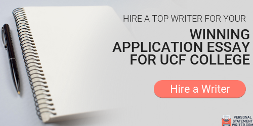 Essay for ucf admissions