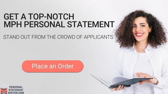 mph personal statement writing service