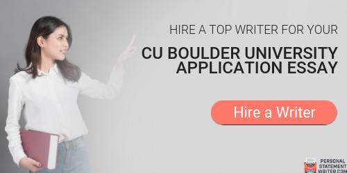 CU Boulder Admission Essay - Free Essay Example