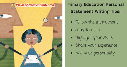 primary education personal statement writing tips