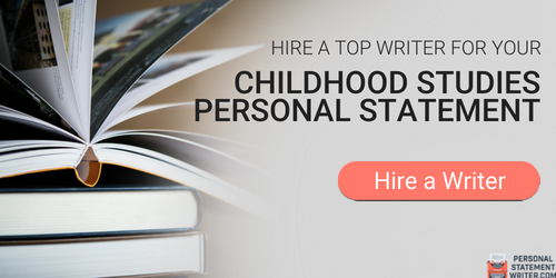 writing a personal statement early childhood education