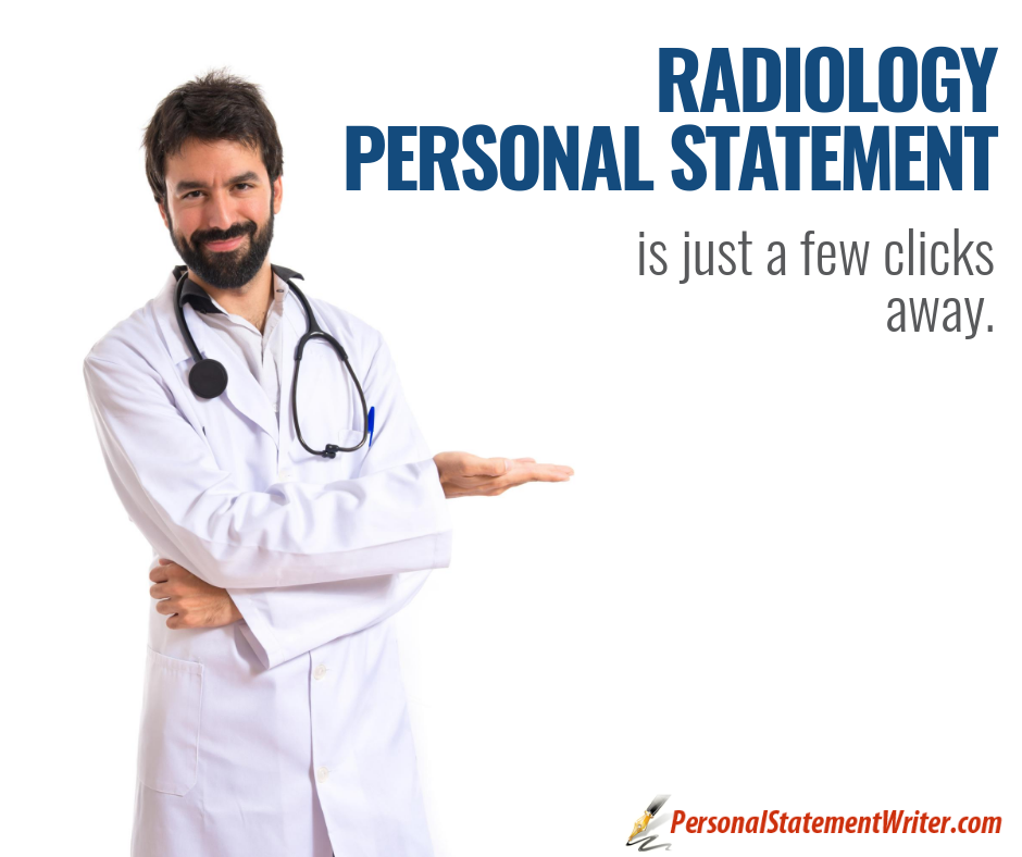 radiology personal statement