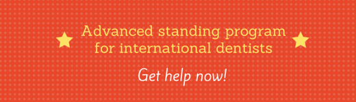 advanced standing program for international dentists