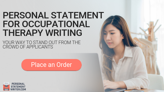 personal statement for occupational therapy help