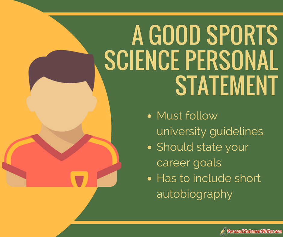 good sports science personal statement
