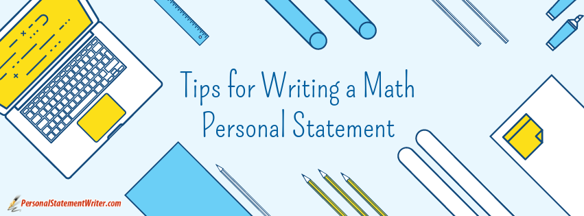 math personal statement tips