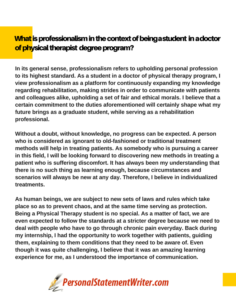 occupational therapy essay application Occupational therapy assistant program this must be done in the six-month period prior to application o typewritten essay occupational therapist.