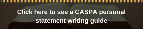 caspa personal statement writing guide