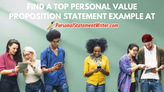 personal value proposition statement writing help