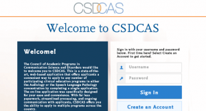 csdcas schools online application