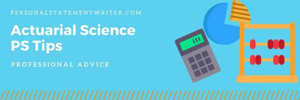 actuarial science personal statement