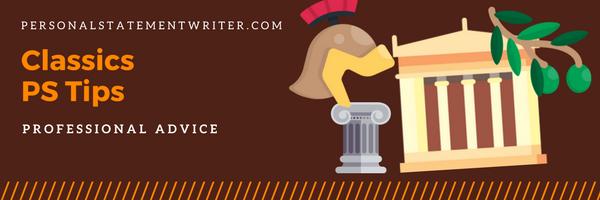 classics personal statement tips