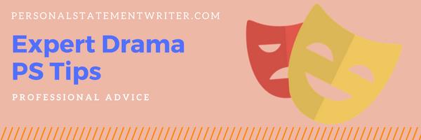 drama personal statement tips