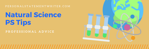 natural sciences personal statement tips
