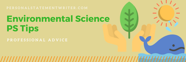 personal statement environmental science tips