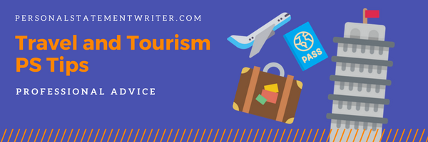 travel and tourism personal statement tips