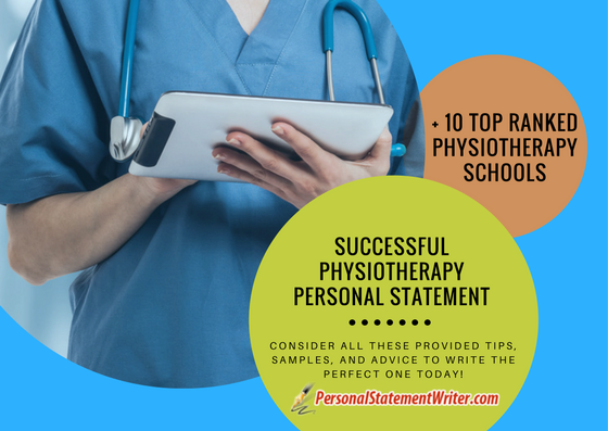 physiotherapy personal statement tips