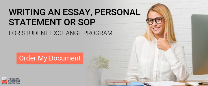 sop for student exchange program help