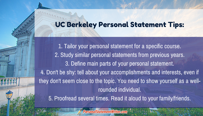 tips to write a personal statement uc berkeley