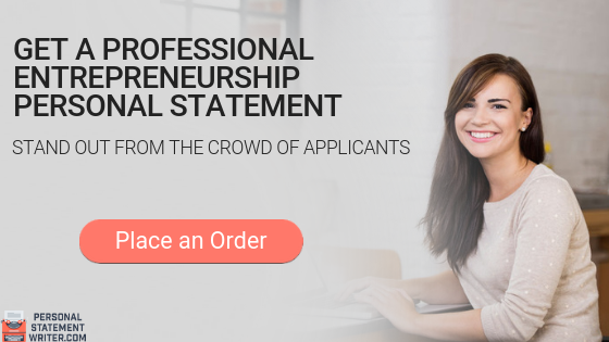 entrepreneurship personal statement help