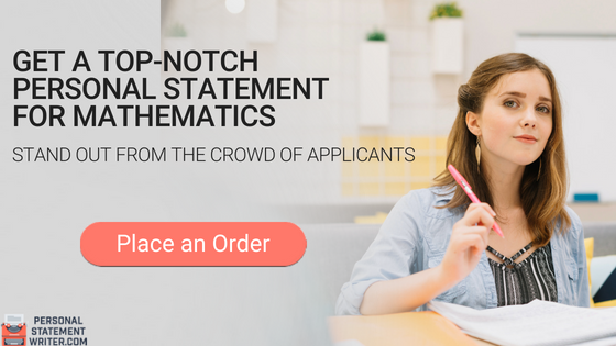 personal statement mathematics writing service