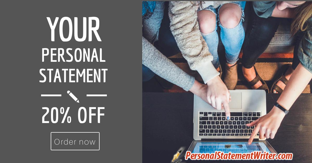 personal statement writer help
