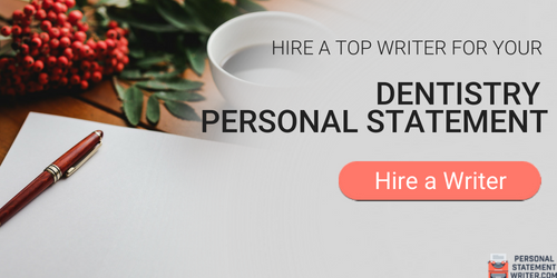 dental residency personal statement writing