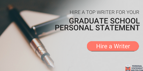 how to write an effective personal statement for graduate school