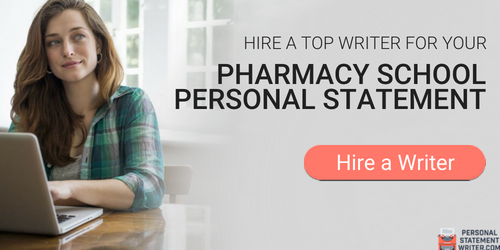 personal statement for pharmacy school writing
