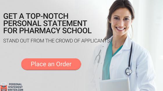 pharmacy school personal statement writing service