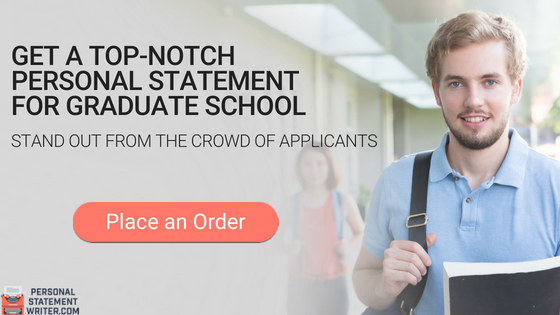 professional writing a personal statement for graduate school