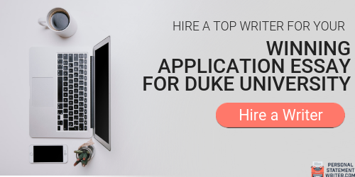 professional duke application essay
