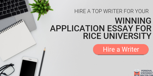 professional rice mba essay