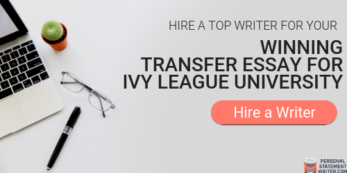 professional transfer essay ivy league