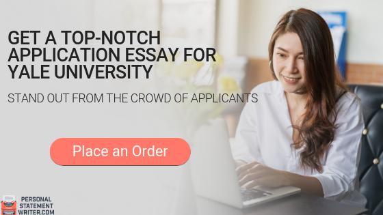College application essay service yale