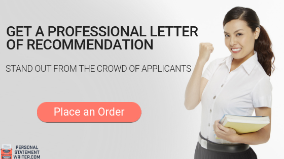 expert letter of recommendation writing service
